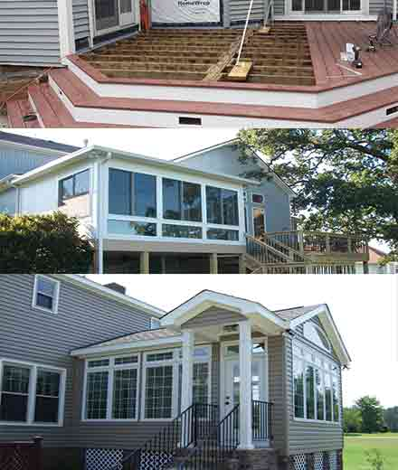 Deck builders deck repair contractors in MA & NH
